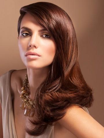 шоколадно-медовый цвет волос фото