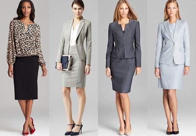 Женский Деловой Стиль Одежды