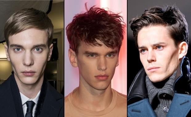 Причёски на узкое лицо мужские