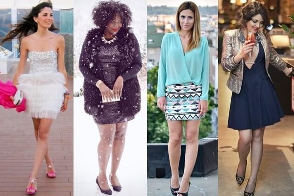 Как носить одежду с блестками