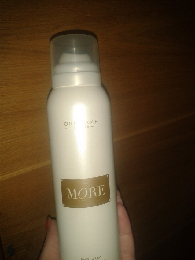 Лак для волос More Hairspray Brilliant Shine от Oriflame