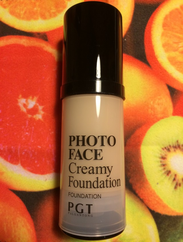 Тональная основа PGT Photo Face Creamy Foundation