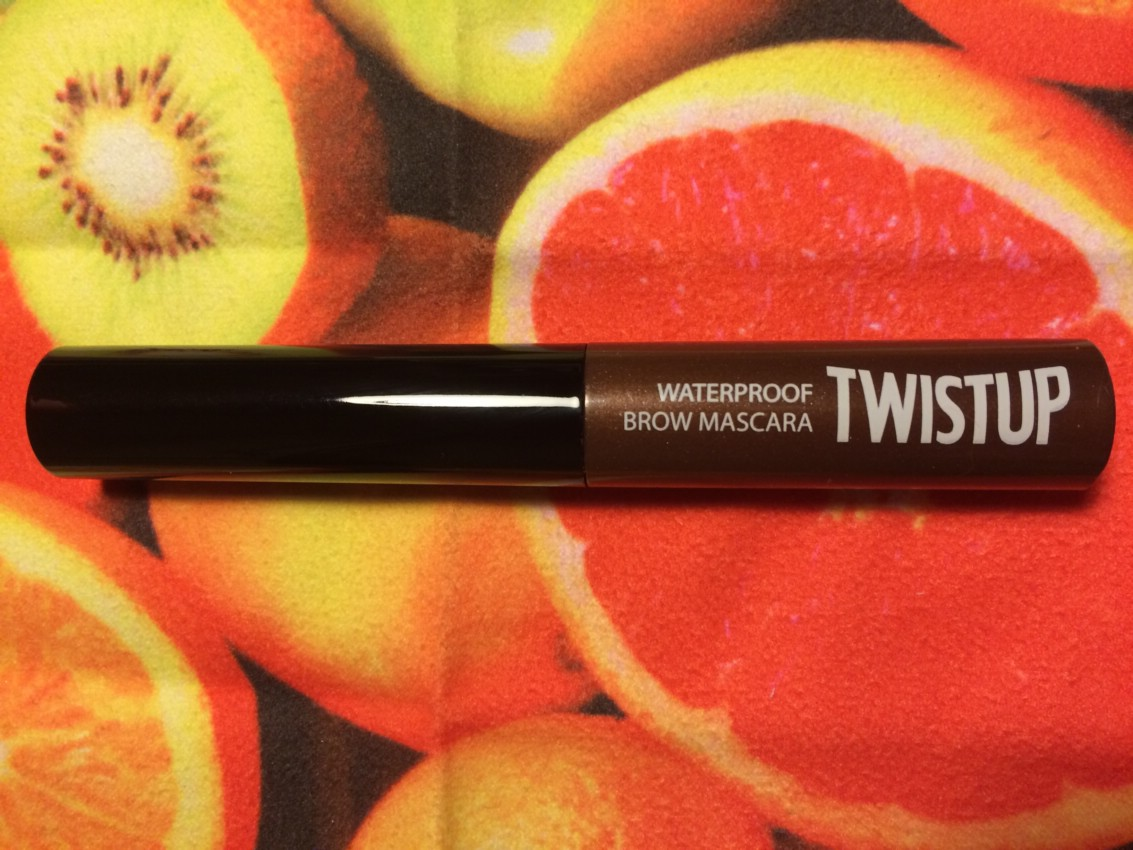 Тушь для бровей Clio TwistUp Waterproof Brow Mascara. Отзыв