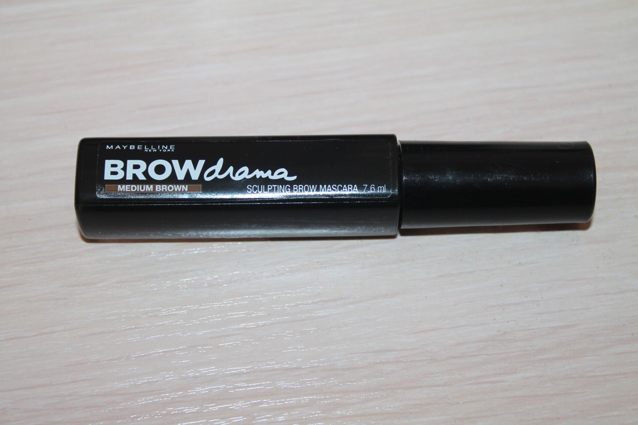 Тушь для бровей Brow Drama от Maybelline New York