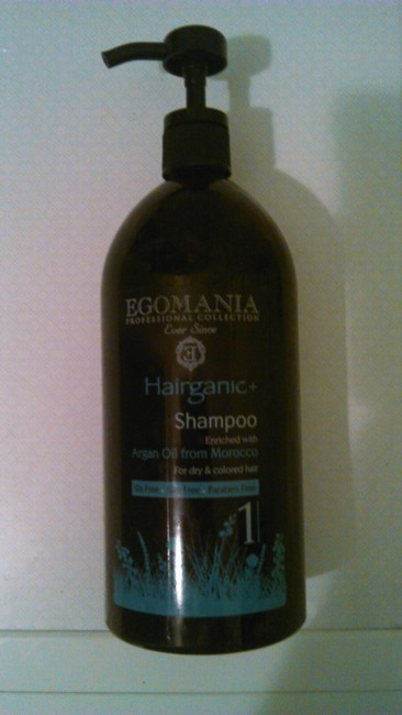 Шампунь и кондиционер Egomania Professional Hairganic+. Отзыв