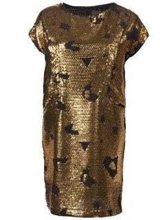 Затерто-золотой стиль