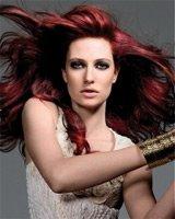 Бордовый цвет – модное окрашивание волос
