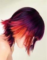 Идеи для окрашивания волос: оригинальные дерзкие цвета