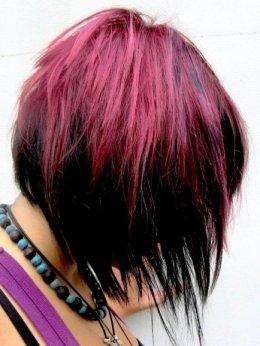 Окрашивание волос: вызывающие цветовые решения