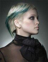 Гламурные варианты окрашивания для коротких волос