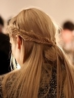 Как заплести косу «рыбий хвост»