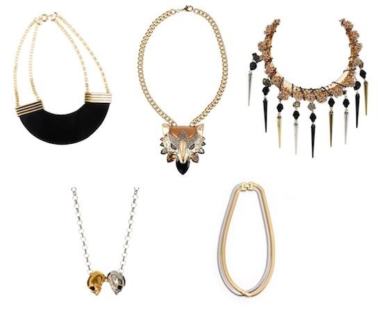 Осенние ожерелья – великолепные, острые и смелые
