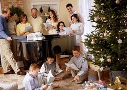 25 декабря — Рождество Христово у западных христиан