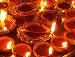 13 ноября 2012 — Дивали — фестиваль огней в Индии