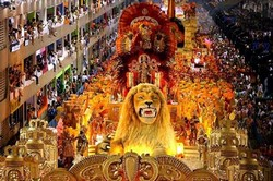 9 февраля 2013 — Карнавал Рио в Бразилии