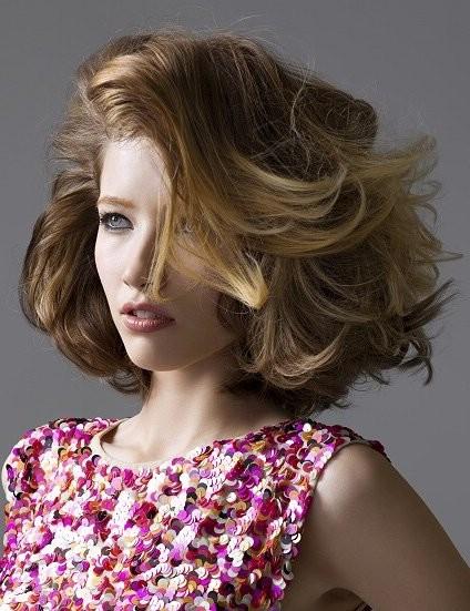 Окрашивание русых волос