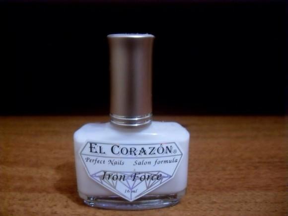 Укрепляющее средство для ногтей Iron Hard от El Corazon