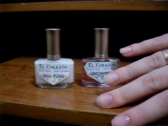 Укрепляющие средства для ногтей Ideal manicure и Iron Hard от El Corazon