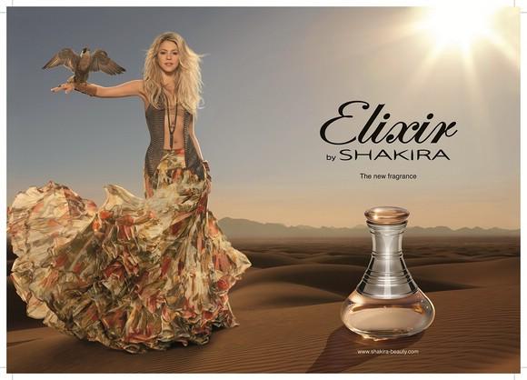 Красавица Шакира в рекламе аромата Elixir