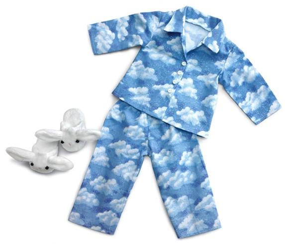 Пижама с «живыми» облаками
