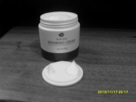 Крем на основе экстракта слизи улитки ZENPIA - SECRET KEY Snail + EGF Repairing Cream