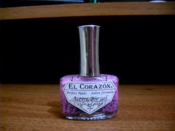 Био-гель для ногтей El Corazon Active Bio-gel. Симпатичный маникюр с укрепляющим эффектом