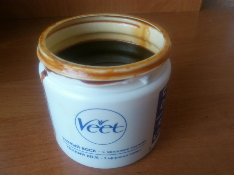 Теплый воск «Veet»