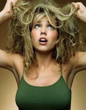 Уход за пересушенными волосами